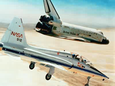 space shuttle landing on the shard - photo #26